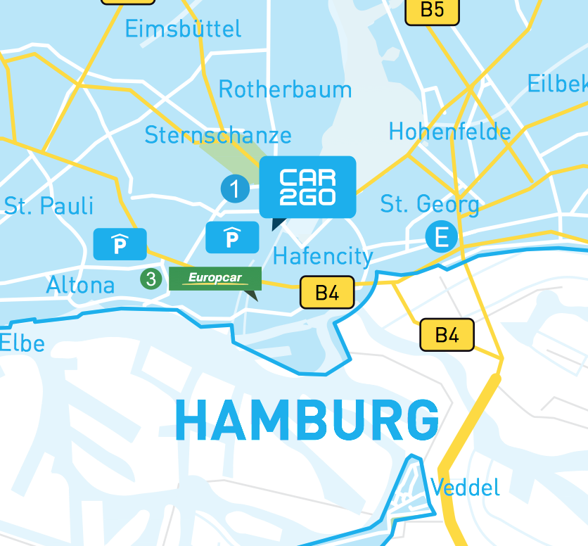 car2go in hamburg carsharing. Black Bedroom Furniture Sets. Home Design Ideas
