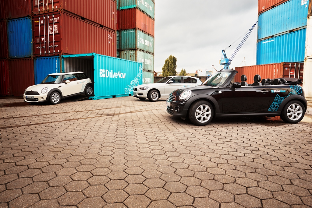 drivenow in hamburg carsharing. Black Bedroom Furniture Sets. Home Design Ideas